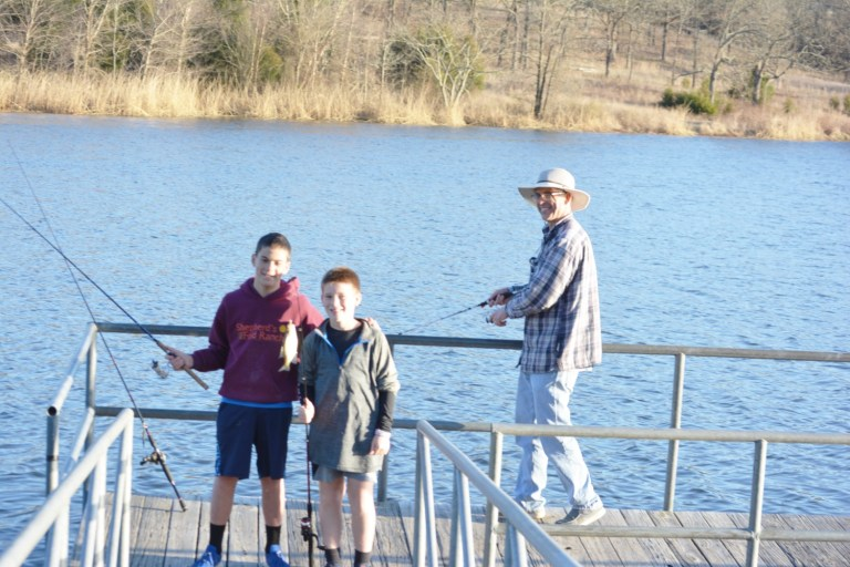 The beginning of spring means fishing at local lakes