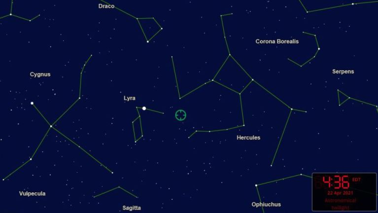 Magnificent Lyrid meteor shower peaks Thursday morning