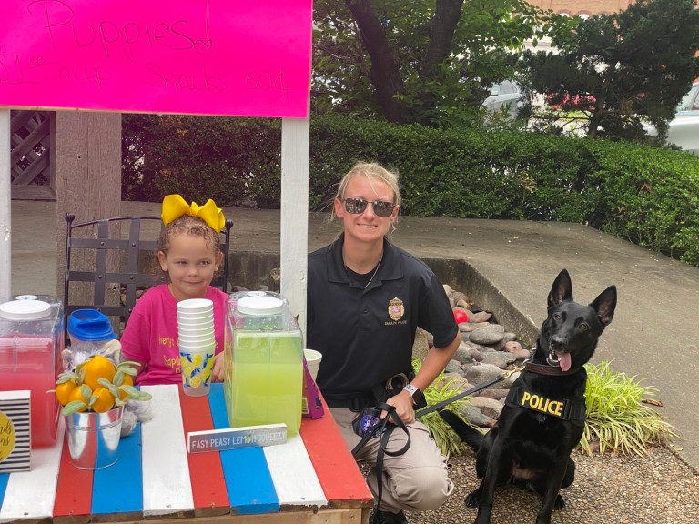 Avery does it again: $488.15 raised for Sapulpa Police K-9 Department