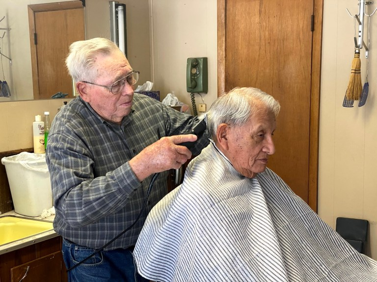 Local barber celebrates 65 years behind the chair