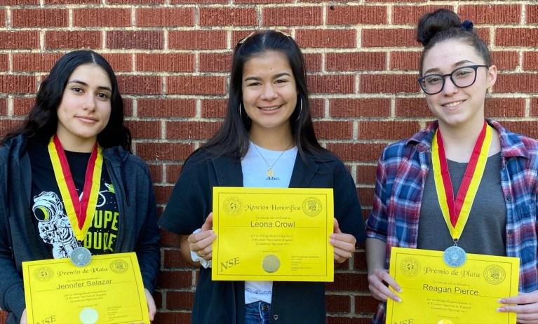 Sapulpa students earn honors in National Spanish Exam