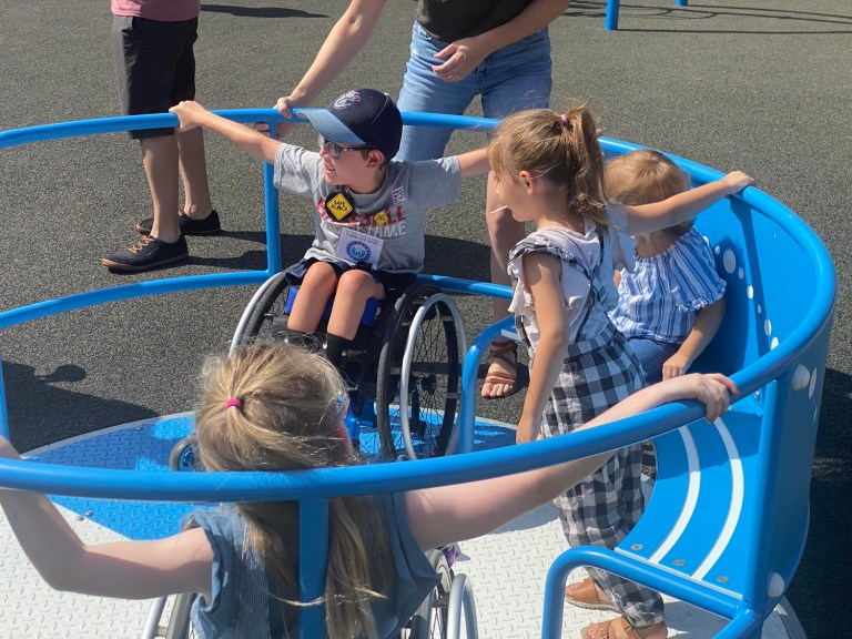 """A park unlike any other: Grand Opening of """"Everyday Heroes"""" playground a roaring success"""