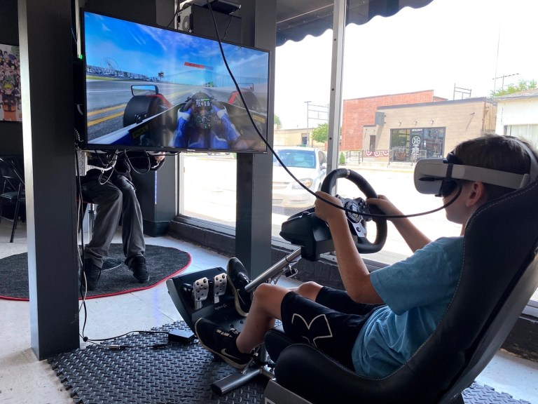 Leveled Up VR brings fun and virtual reality to a new generation of gamers in Sapulpa
