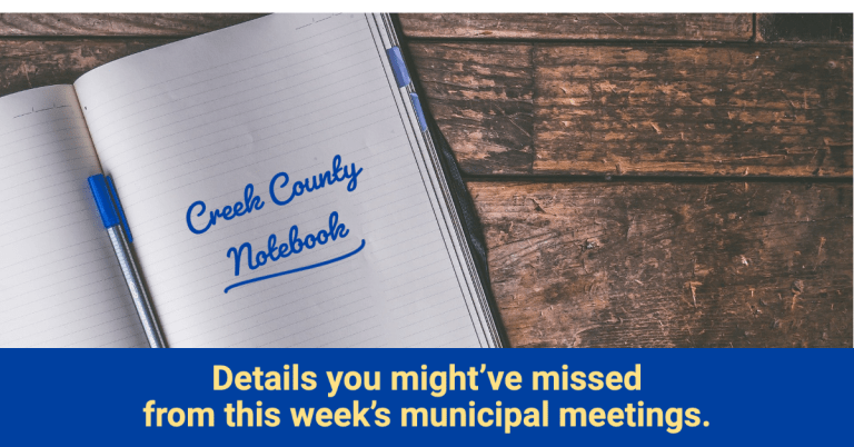 Updates from the County, City and Bond Oversight Committee in this week's County Notebook