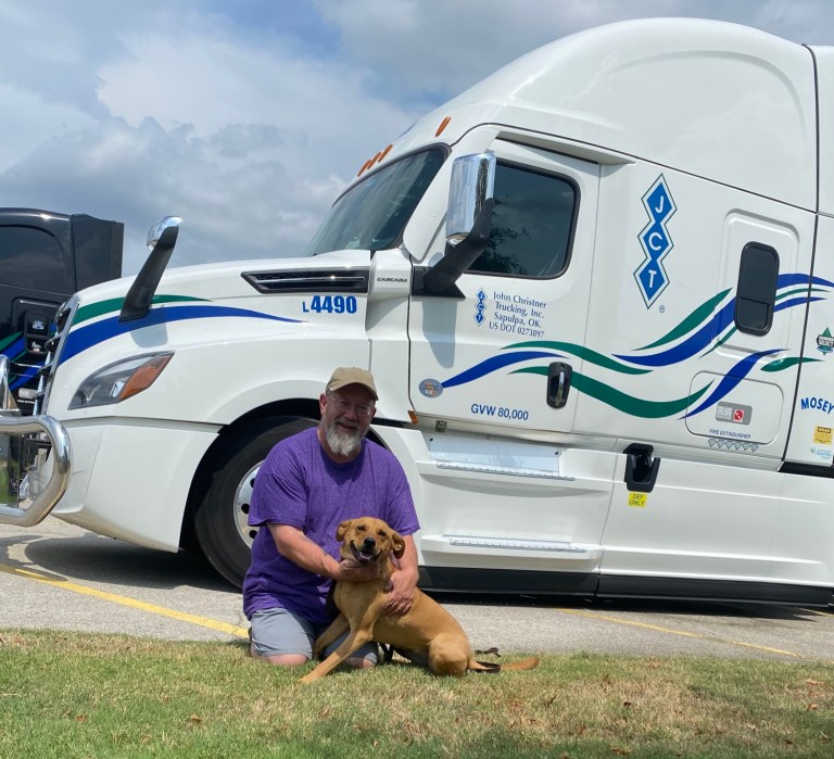 Community Heroes: A glimpse inside a truck driver's life