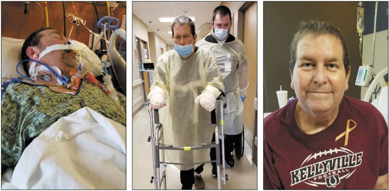 """""""God has a plan:"""" Kellyville man credits his rare COVID recovery to his faith"""