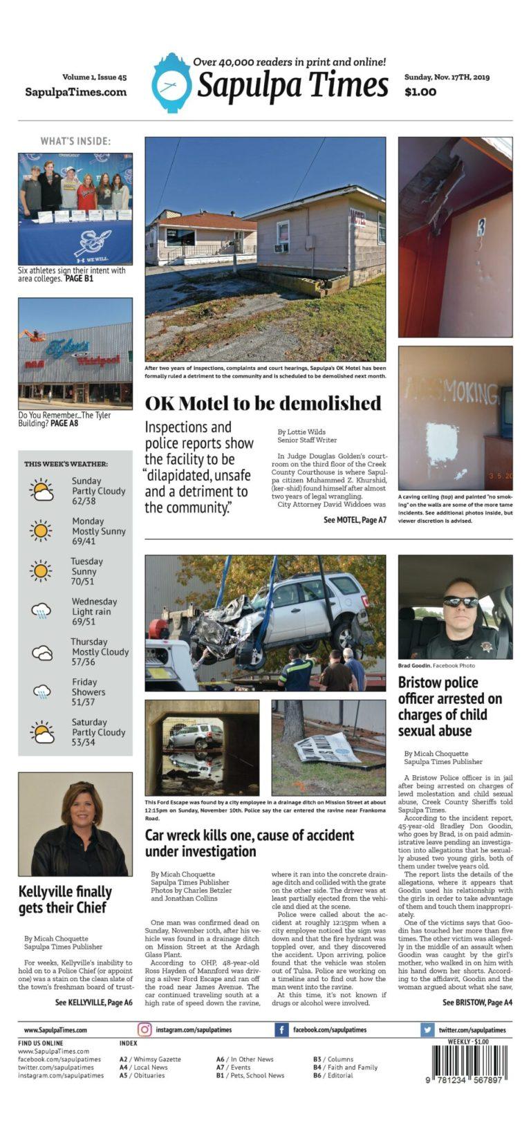 Sapulpa Times Digital Edition 11/17/2019
