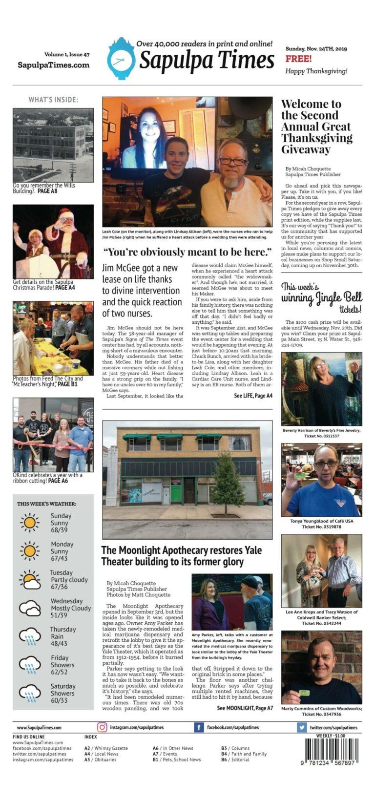 Sapulpa Times Digital Edition 11/24/2019