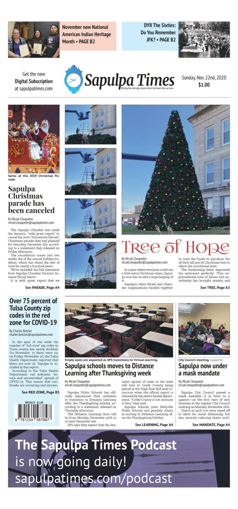 Sapulpa Times Digital Edition 11/22/2020