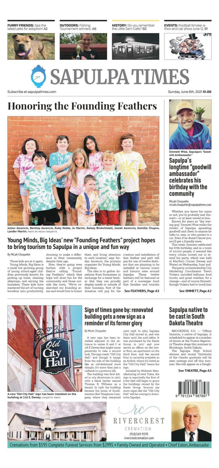 Sapulpa Times Digital Edition 06/06/2021