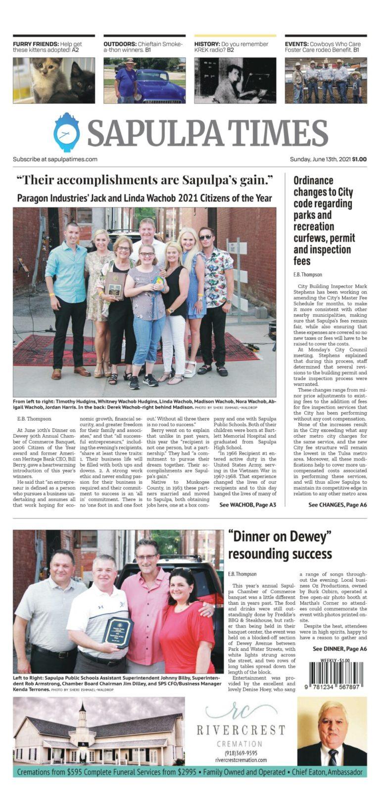 Sapulpa Times Digital Edition 06/13/2021