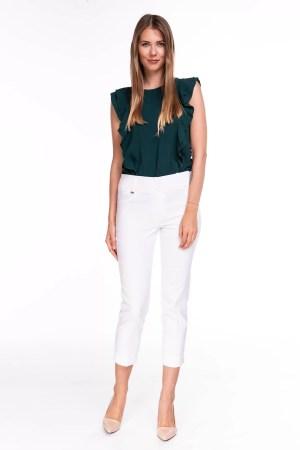 Spodnie Capri Białe