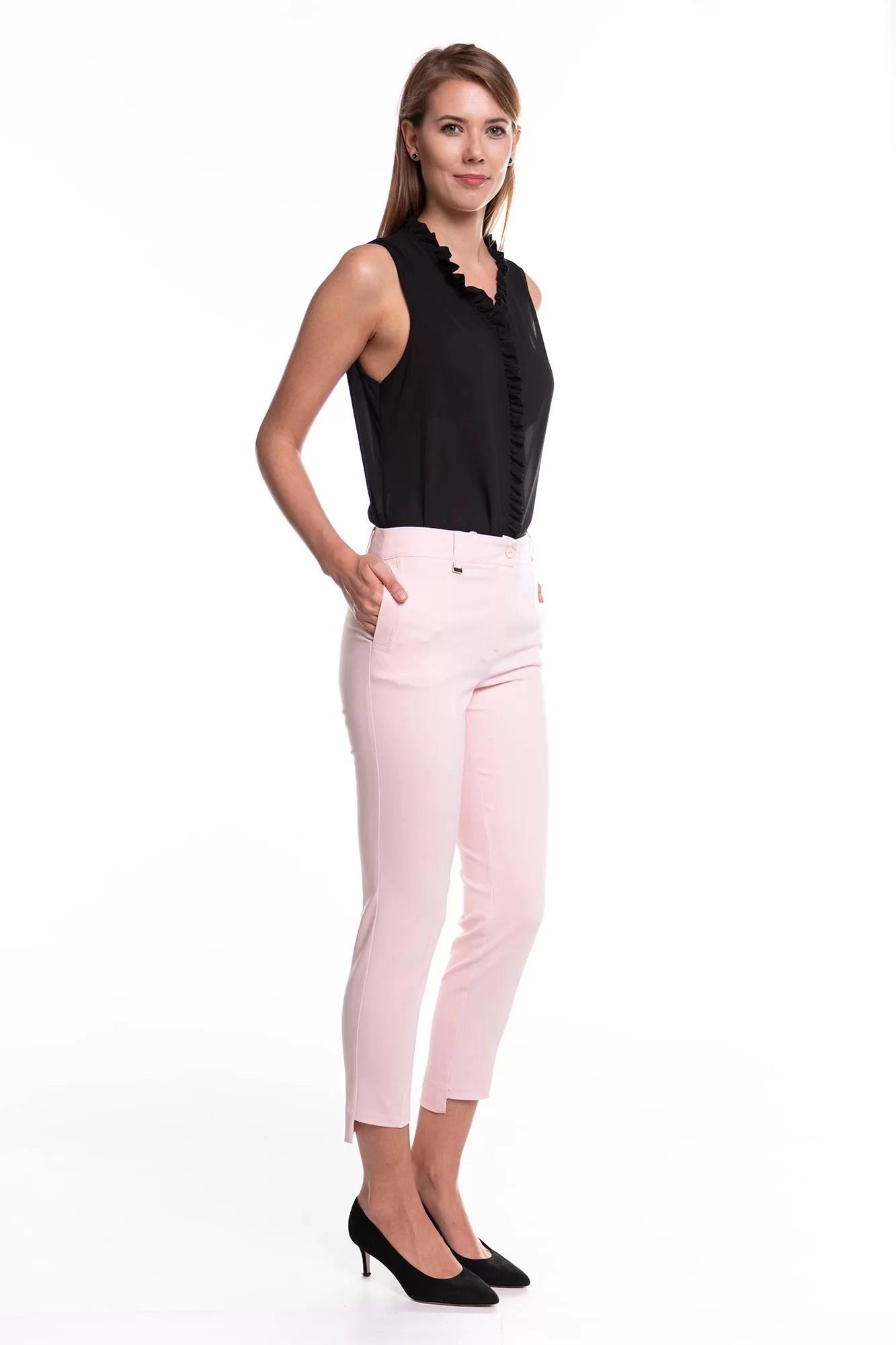 Spodnie Rozenki Jasny Róż