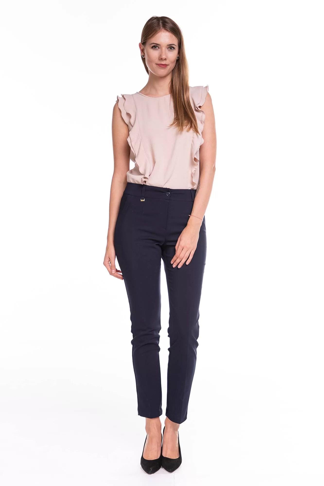 Spodnie Classic Granatowe