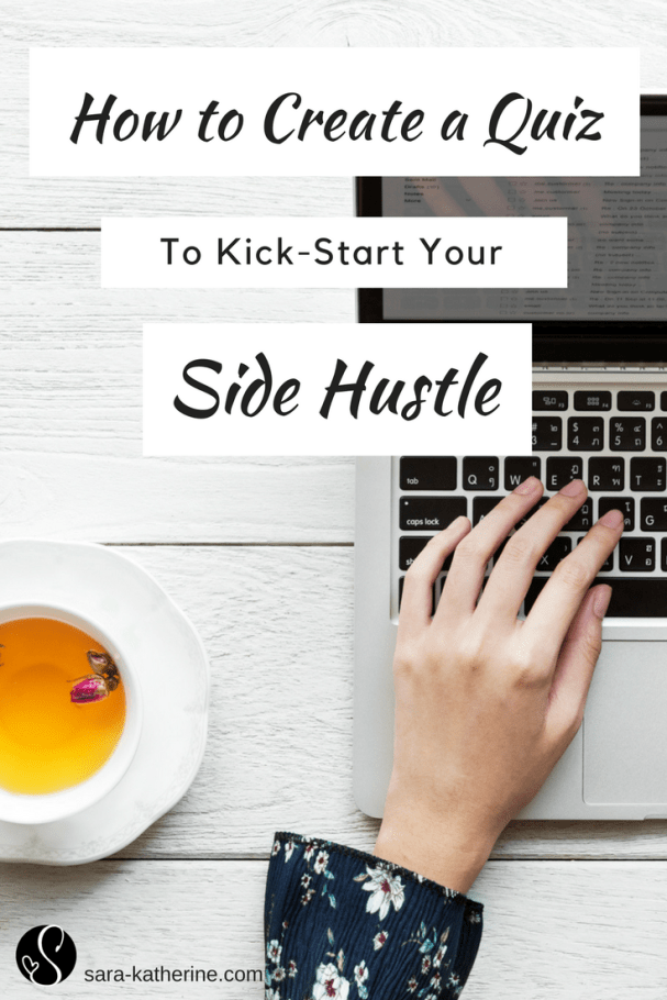 Starting a side-hustle and need to grow your following? Learn how creating a quiz can help you kick-start your email list and build your community.