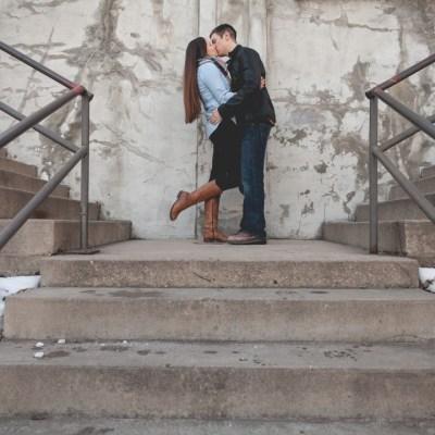Alicia + Blake | Rockford, Illinois Engagement Photographer