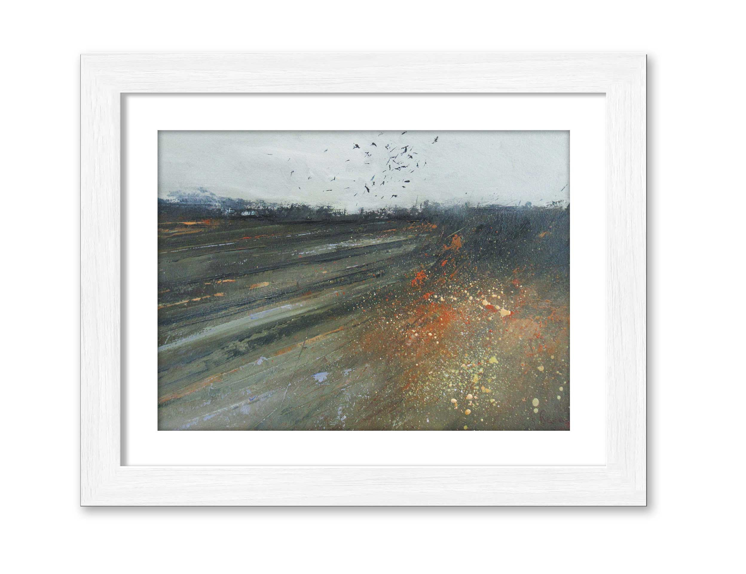 Freshly Ploughed - Oil on Board