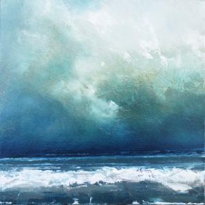 Racing Tide - Oil Painting