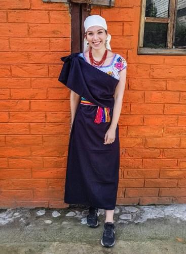 Die typische Tracht Otavalos