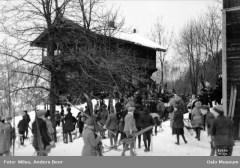 Skisøndag, 1922. Anders B. Wilse / Oslo Museum / oslobilder.no