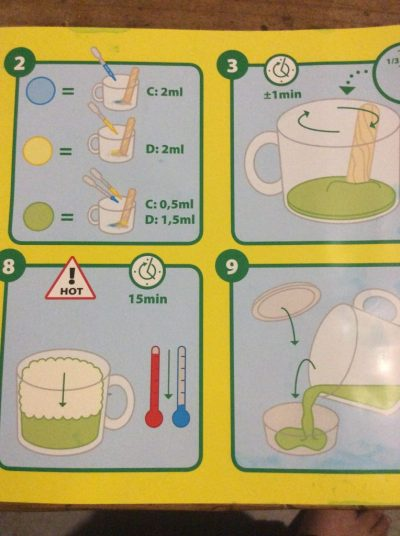Mon labo à slime