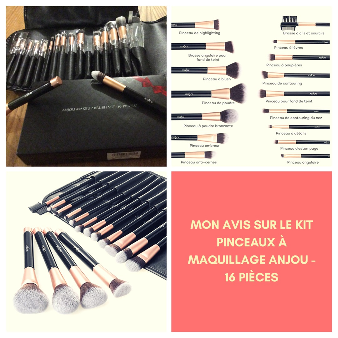 Kit pinceaux à maquillage Anjou