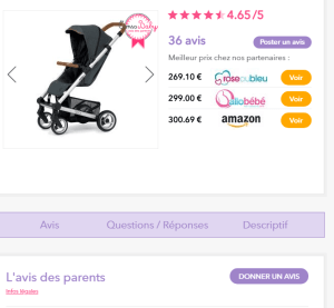 avis client consobaby