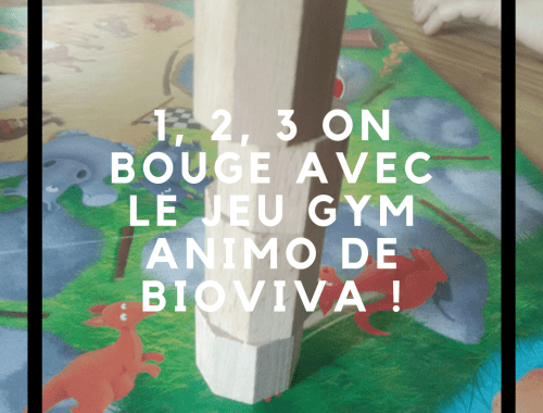 1, 2, 3 on bouge avec le jeu Gym Animo de Bioviva!
