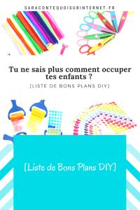 [Liste de Bons Plans DIY]