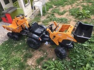 tracteur case IH falquet