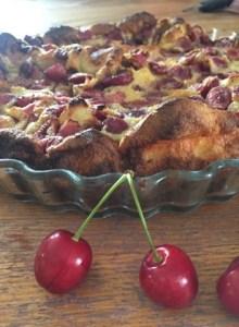 recette de clafoutis aux cerises