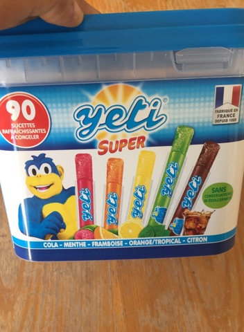 yeti glaces