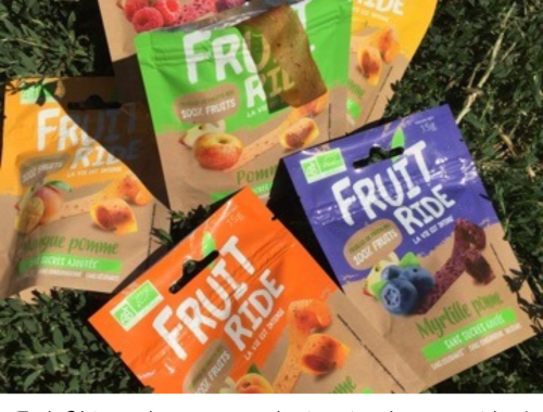 Fruit Ride, enfin une alternative healthy bio au snacking !