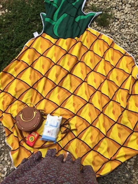 Serviette ananas xxl