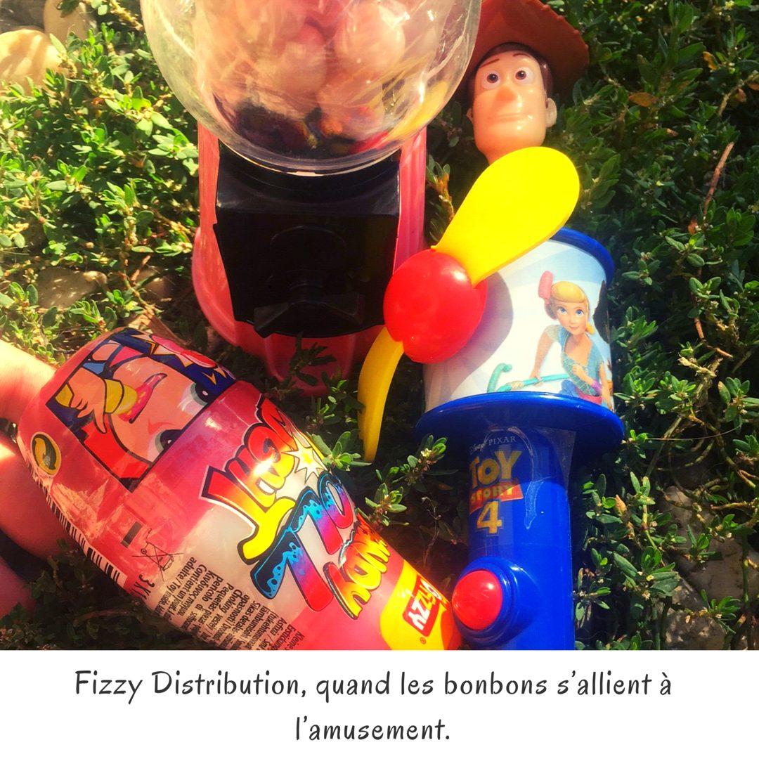 Fizzy Distribution, quand les bonbons s'allient à l'amusement.