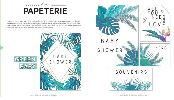 Tutos et recette pour organiser une Baby-Shower, Éditions Larousse.