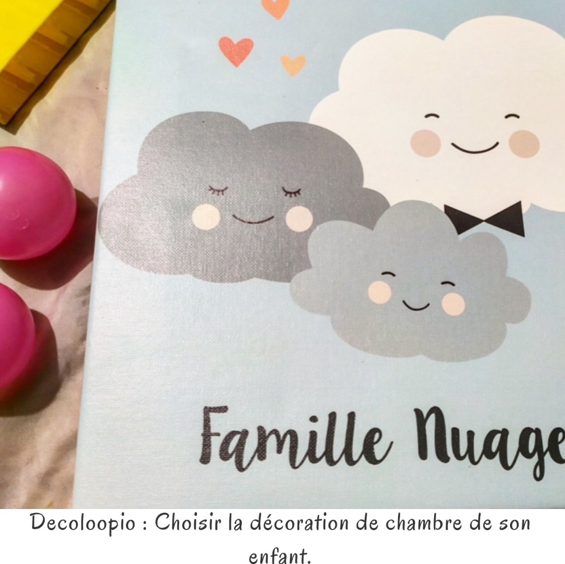 Decoloopio : Choisir la décoration de chambre de son enfant.