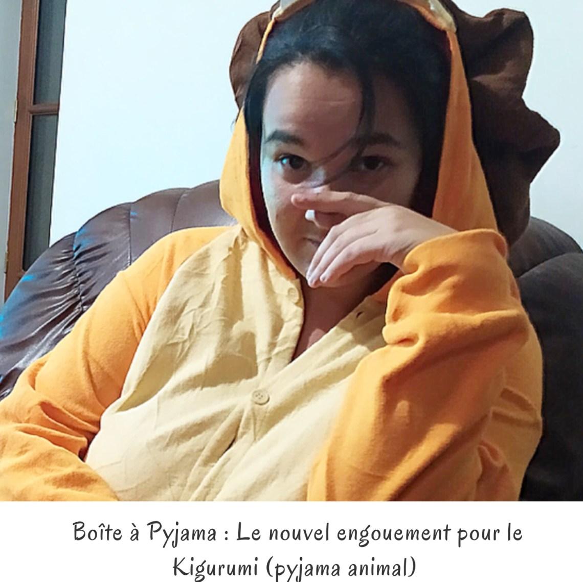 Boîte à Pyjama : Le nouvel engouement pour le Kigurumi (pyjama animal)