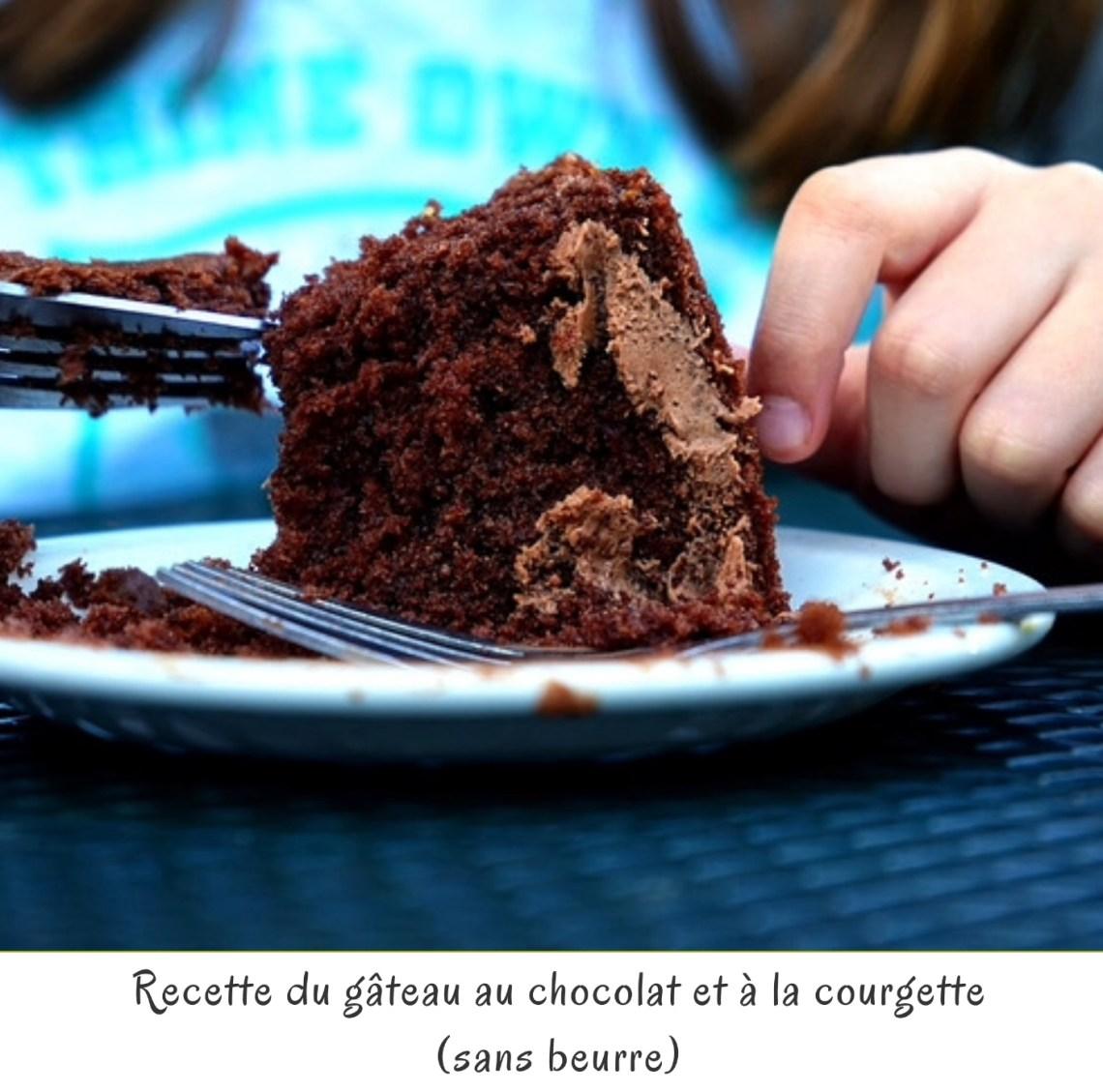 Recette du gâteau au chocolat et à la courgette (sans beurre)