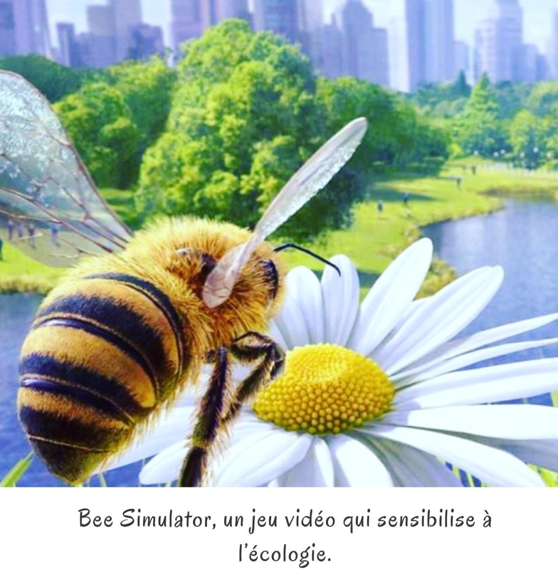 Bee Simulator, un jeu vidéo qui sensibilise à l'écologie.
