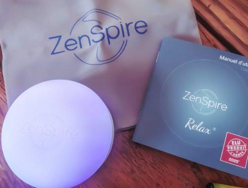 Zenspire Relax ou comment calmer son stress en 5 minutes chrono !