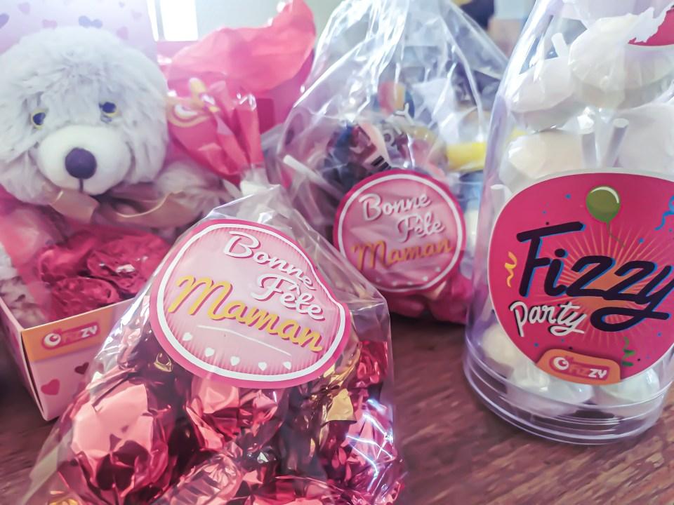Fizzy distribution fête des mères