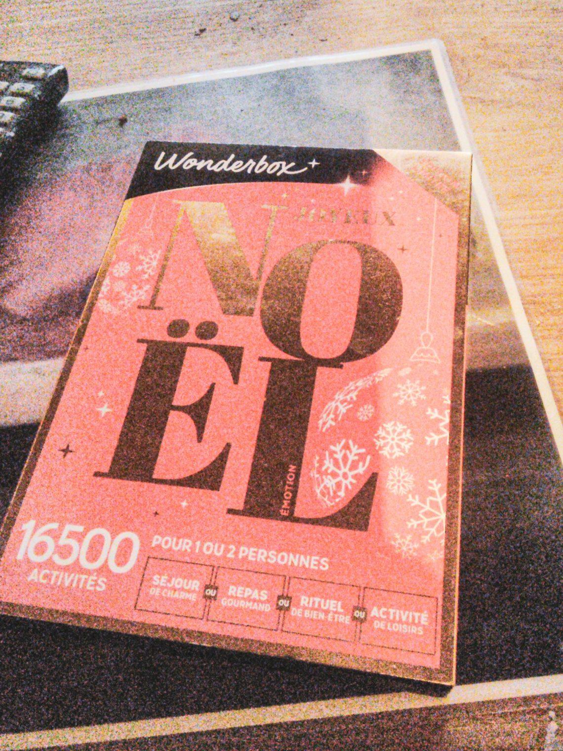 Pas d'idée cadeau ? Et si vous offriez une Wonderbox Émotion ?