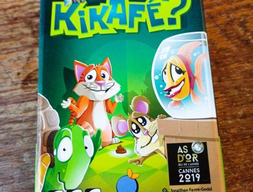 Zoomet Avis sur le jeuKikafé, un jeu de défausse très rigolo.
