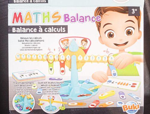 Zoom & Avis : Commencer les maths avec la balance à calculs de BUKI