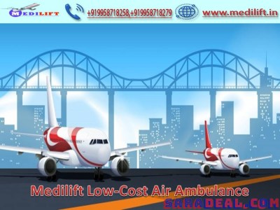 Receive Medilift an Affordable Cost Air Ambulance Service in Guwahati