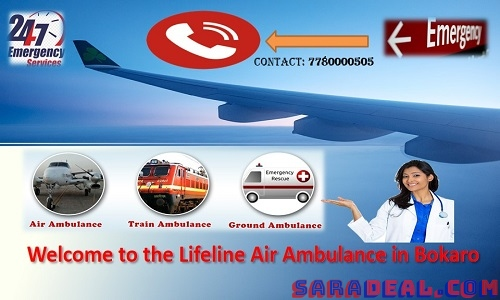 Lifeline Air Ambulance in Bokaro Remarkably Fly with Specialist Meets Security