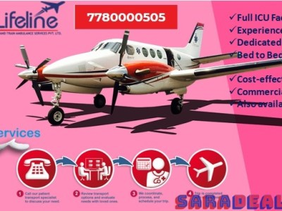 Lifeline Air Ambulance in Hyderabad Provides Easy Access to Critical Emergency