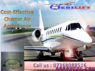 Use Medilift Best Medical Support Air Ambulance Services in Ranchi
