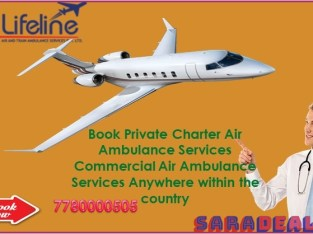 Lifeline Air Ambulance in Darbhanga Assist Patient From the Doorstep
